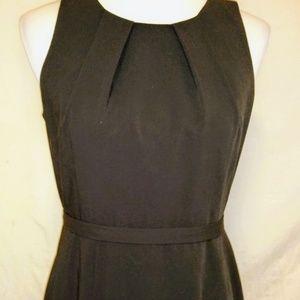 Elie Tahari Sheath Dress Size 6 Dark Brown